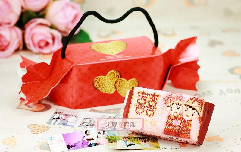 一定要幸福哦~~浪漫甜心喜米禮盒DIY、囍米、婚禮小物、喜糖、喜米、結婚、訂婚、喝茶禮