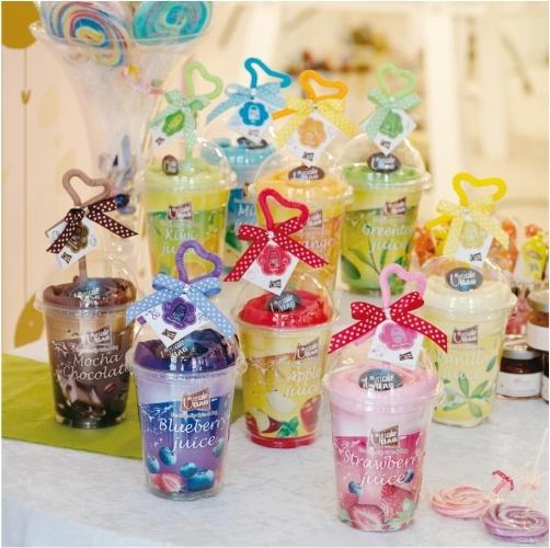 一定要幸福哦~~果汁杯冰沙購物袋(20個特價3200元)、送客禮、蛋糕毛巾、生日禮、購物袋