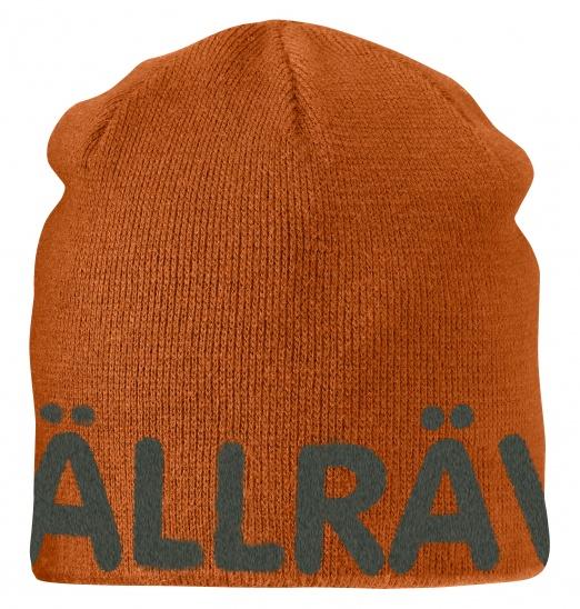 【鄉野情戶外專業】 Fjallraven |瑞典| Are Beanie 小狐狸保暖帽/毛線帽 針織帽 滑雪帽-秋葉橘/77262