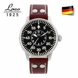 【德國機械精品錶】Laco 朗坤 861690 藍寶石玻璃 錶徑 42mm