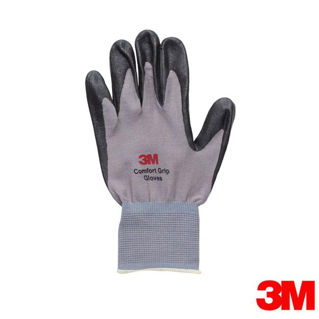 3M 亮彩舒適型止滑/耐磨手套-灰色