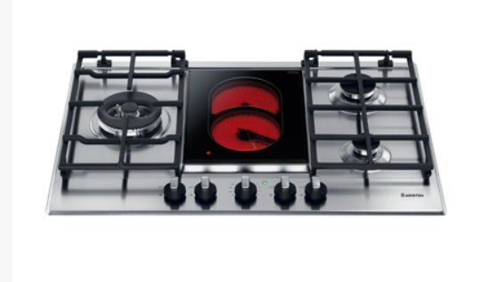 ARISTON 阿里斯頓 PK741 三口安全瓦斯爐+電陶爐【零利率】※熱線07-7428010