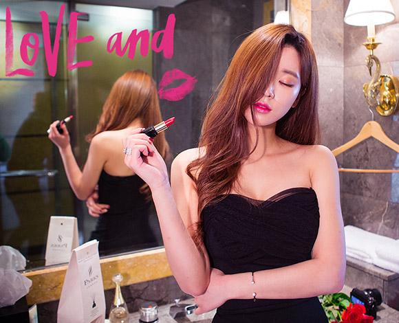 【100%韓國時尚女裝】性感PARTY皺摺紗質緊身洋裝@K startree首爾星星樹