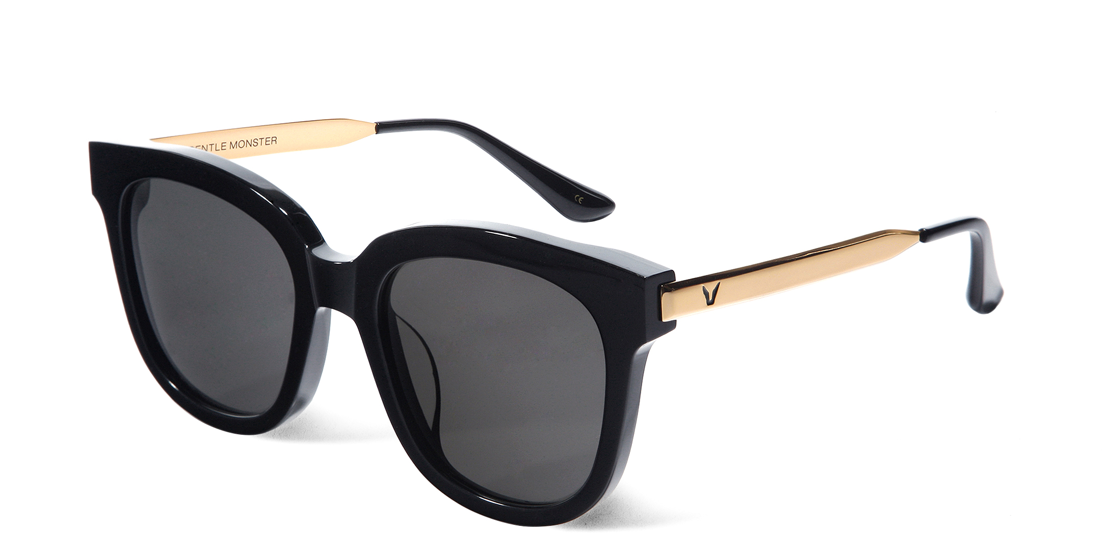 [韓劇看見味道的少女]#ABSENTE 01 GOLD 時尚品牌GENTLE MONSTER太陽眼鏡@K startree首爾星星樹