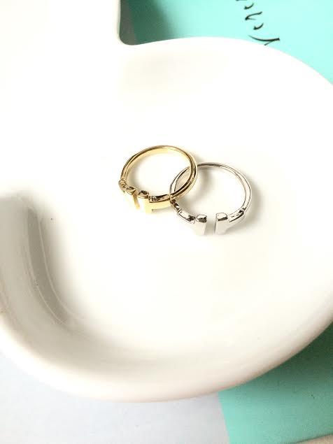 @K startree首爾星星樹 #韓國部落客推薦款H字樣戒指