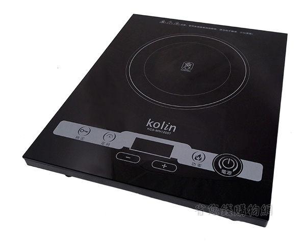 《省您錢購物網》福利品~歌林kolin觸控式微晶電陶爐(KCS-MN1205T)+贈廚房用品4件組(含開瓶器、剪刀、水果刀、刨刀)