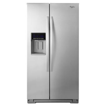 Whirlpool 惠而浦 725L 對開電冰箱 WRS576FIDM /智冰快取系統/溫控管理模式/強化玻璃層架