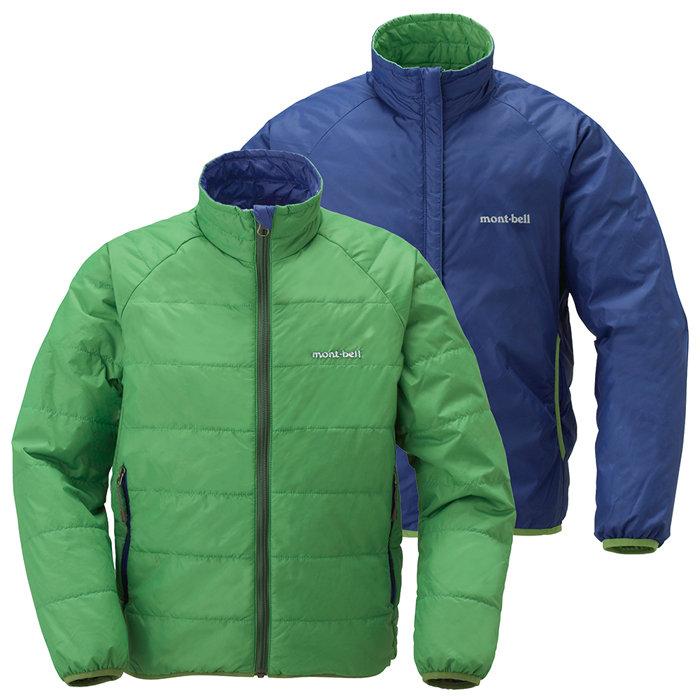 【鄉野情戶外專業】 mont-bell |日本| THERMAWRAP 雙面穿化纖外套/保暖外套/1101448 【兒童款130-150】