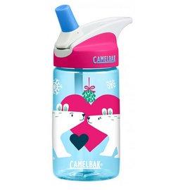 《台南悠活運動家》CAMELBAK 美國 400ML 兒童吸管運動水瓶 親親白熊 CB53899