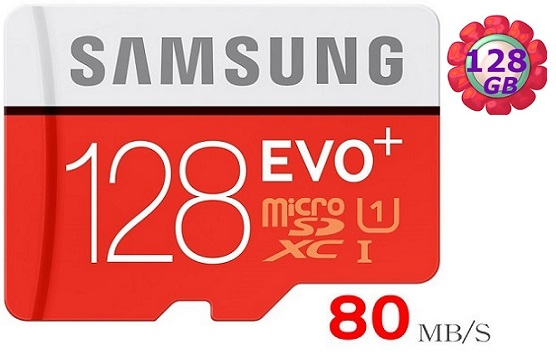 Samsung 128GB 128G microSDXC【80MB/s】EVO Plus microSD micro SD SDXC UHS UHS-I U1 C10 原廠包裝 三星 手機記憶卡 記憶卡