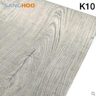 K2 仿木紋PVC自黏式 壁貼 壁紙 地板/家具/櫥櫃/ 地板貼紙 防水材質 (1捲=45x1000公分)