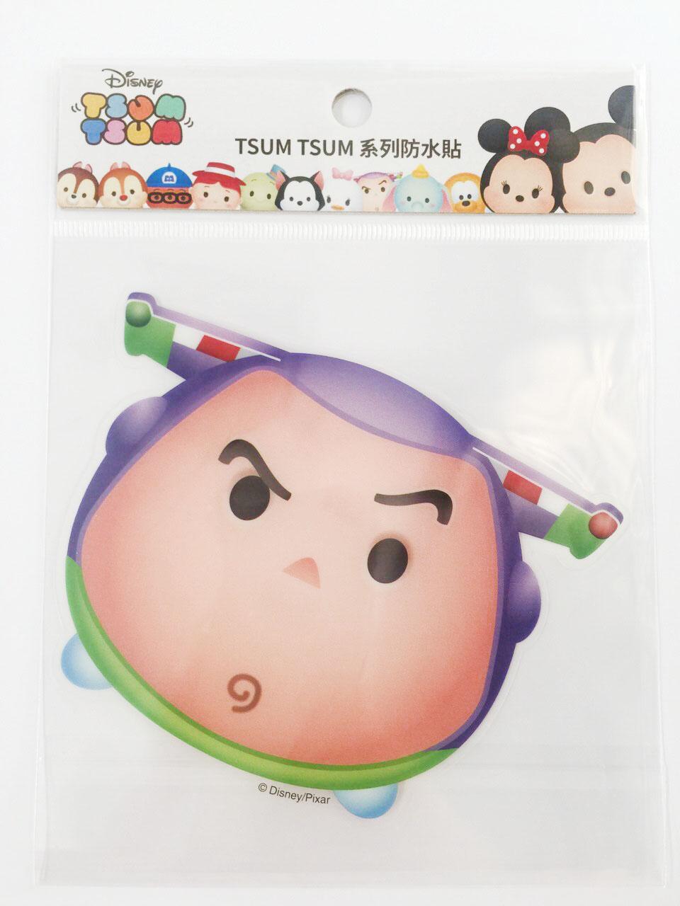【真愛日本】16011200039  TSUM防水貼紙-巴斯光年   玩具總動員 迪士尼 裝飾貼紙 PVC 貼紙