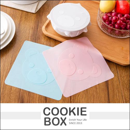 食品級 多功能 矽膠 保鮮膜蓋 微波爐 冰箱 保鮮碗 透明 密封蓋 碗蓋 餐盒蓋 保冷 保熱 *餅乾盒子*