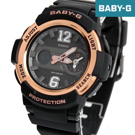 Baby-G 黑金運動雙顯手錶 柒彩年代【NECB10】casio