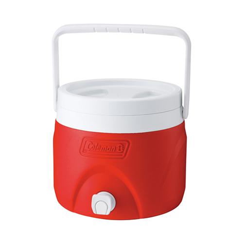 Coleman 美國   7.6L置物型飲料桶-紅、藍、綠 冰桶 冰箱   秀山莊(CM-1362,CM-1363,CM-1364)