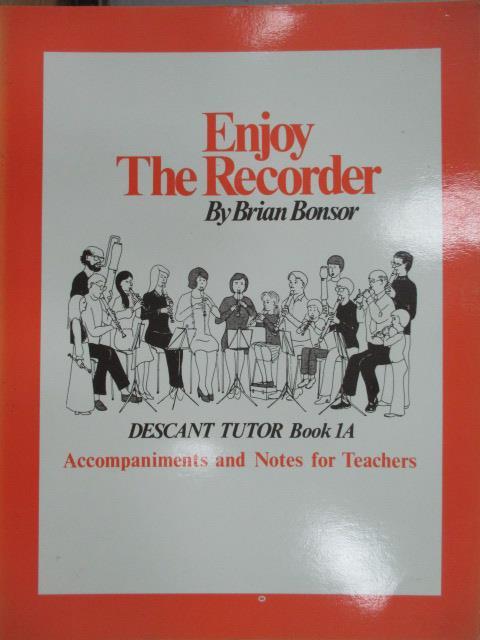 【書寶二手書T1/音樂_WGU】BONSOR:Enjoy the Recorder