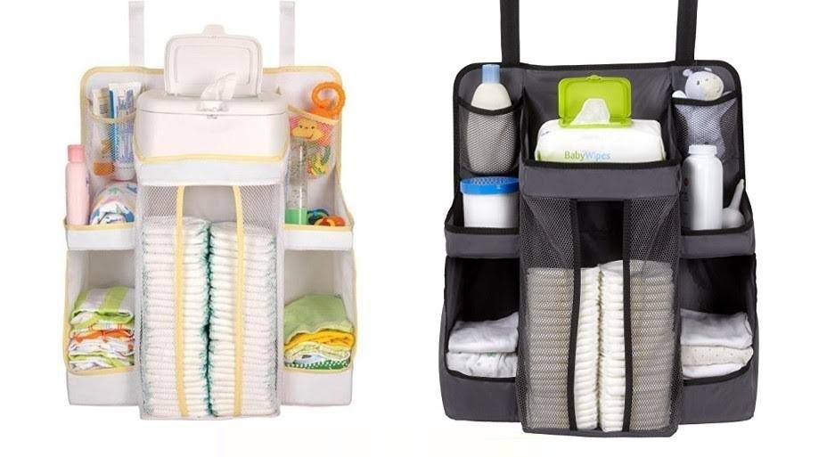 美國 Dexbaby 尿布收納袋/嬰兒用品收納袋 (白/黑) ☆真愛香水★