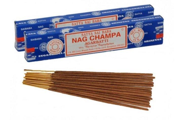 【彤彤小舖】SATYA SAI BABA Nag Champa 賽巴巴 印度線香 2015  15g