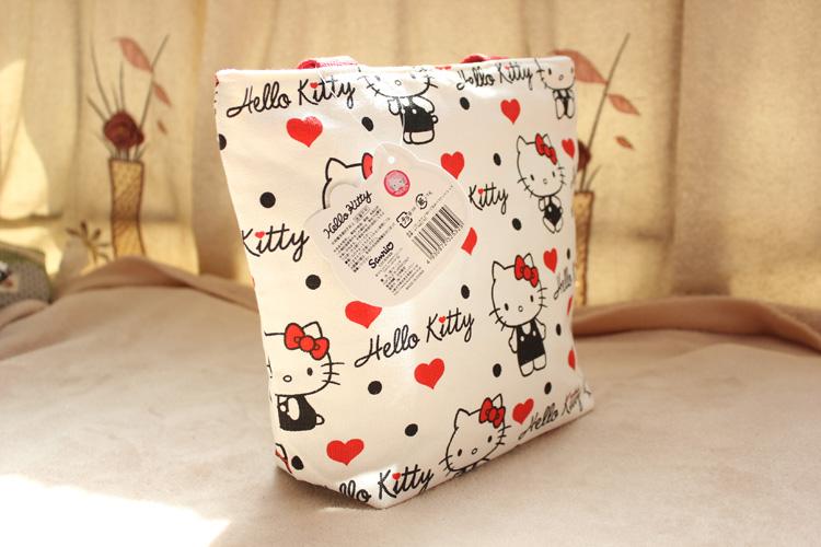 日韓最新款正版Kitty手提包小布包便當袋