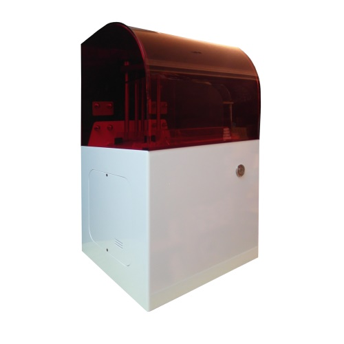 光固化 3D印表機【SmartBot 凱撒 Caesar】列印大小155x155x160mm 精度0.025mm(2.5條) 光固化 SLA 3D印表機 雷射光固化3D列印機 3D Printer 3D打印機 無毒樹脂