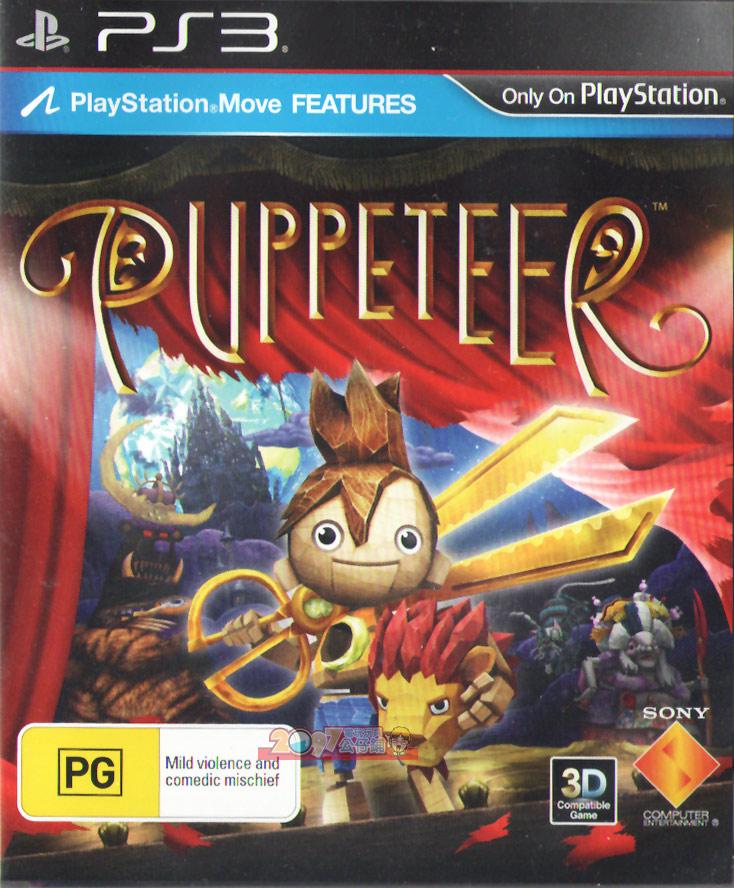 PS3 木偶歷險記(剪刀王子)(相容Move與3D顯示) 英文版 Puppeteer