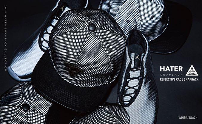 ►法西歐_桃園◄ HATer Snapback 反光陷阱棒球帽 黑色  Bii 畢書盡代言著用款