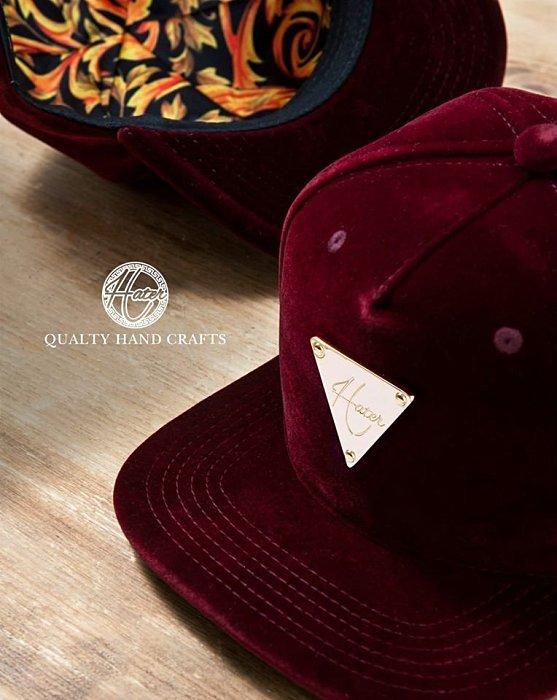 ►法西歐_桃園◄ HATer Velent Snapback 平絨尊爵系列棒球帽 紅 排扣帽 絨布帽