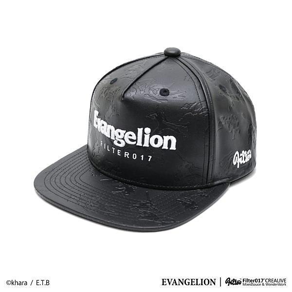 ►法西歐_桃園◄ Filter017 x 新世紀福音戰士 聯名款 Snapback S57 質感壓紋皮革 棒球帽