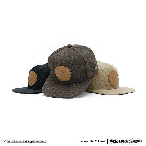 ►法西歐_桃園◄ Filter017 Snapback ACK 混紡毛料皮牌 棒球帽