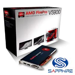★綠G能★全新★sapphire藍寶FirePro V5900顯示卡可轉小卡