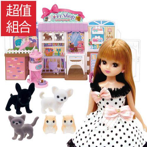 《TAKARA TOMY》LICCA莉卡娃娃-莉卡時尚寵物店豪華組