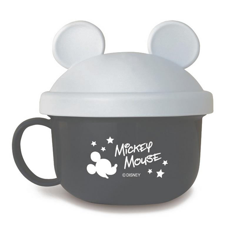 『日本代購品』米奇黑款 迪士尼米奇黑色 兒童零食碗 日本製