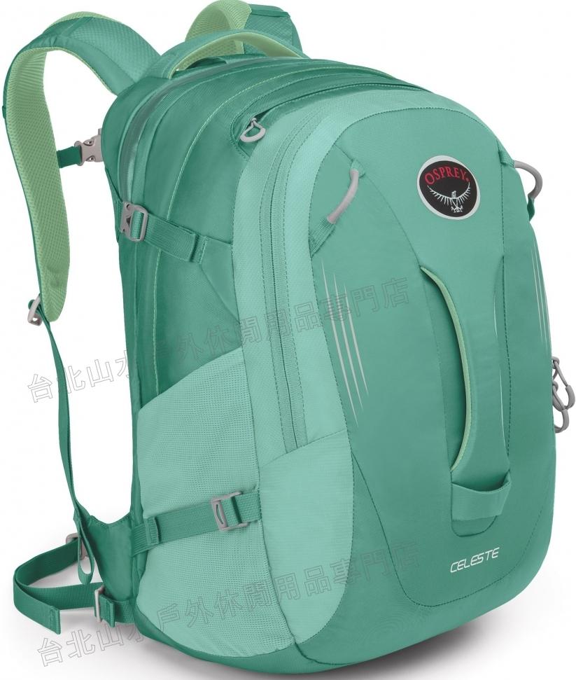 [ Osprey ] Celeste 29 日用系列後背包/電腦包/旅行背包 大容量 24/Seven 女款 松綠