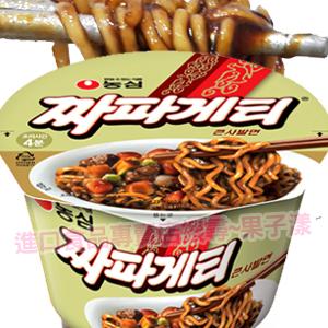 韓國農心 炸醬碗麵 沖泡碗裝超方便 醡醬麵 泡麵 [KR190]