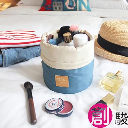 小旅行!厚布 旅行化妝品收納包 防水旅行袋 超可愛登機包 旅行包 飛機包 化妝包 補妝盒