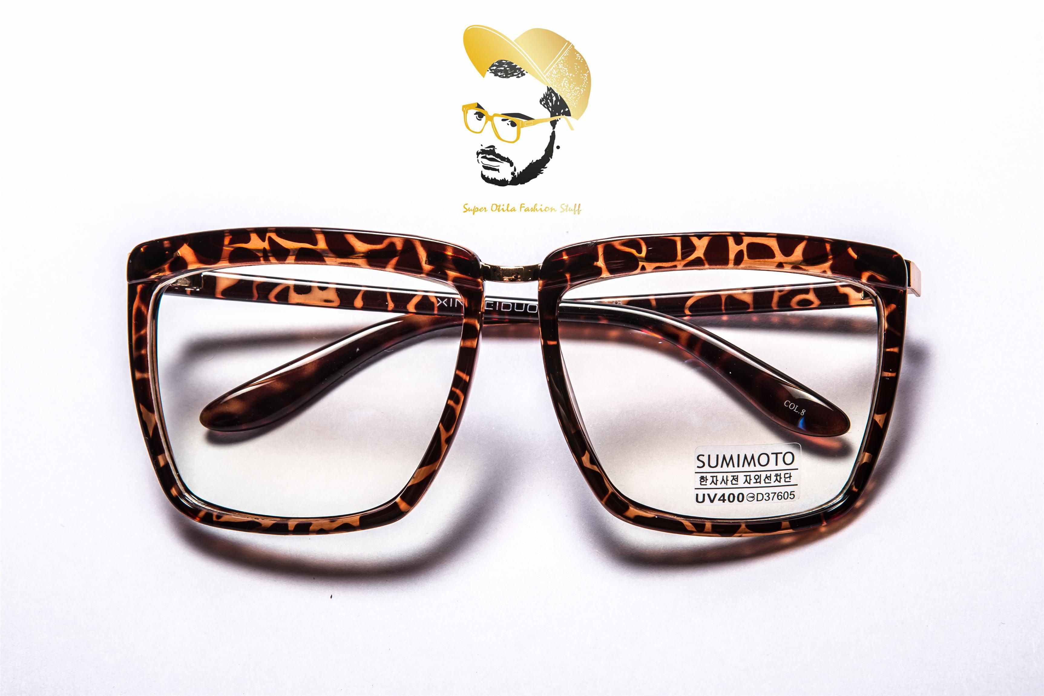 太陽眼鏡 墨鏡 眼鏡  韓國 super otila 【2012】抗藍光鏡片-玳瑁方框
