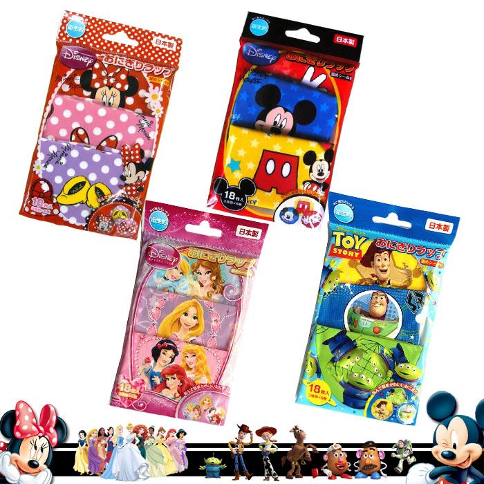 大田倉 日本進口正版 迪士尼 皮克斯 公主 米妮 米奇 玩具總動員 飯糰包裝紙 漢堡包裝紙 烘培創意包裝紙