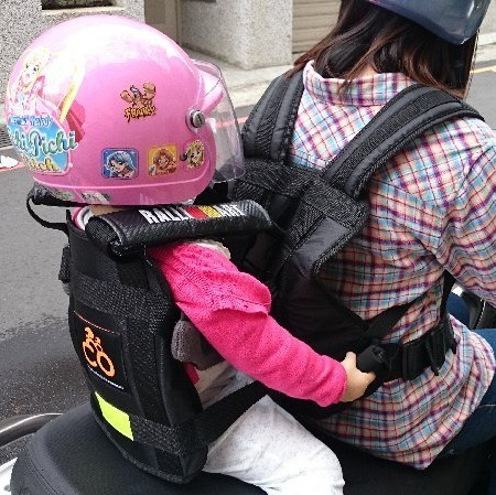 KYMCO SYM YAMAHA兒童 機車安全帶 別再讓孩子站機車前面了,有效保護後座孩童安全.