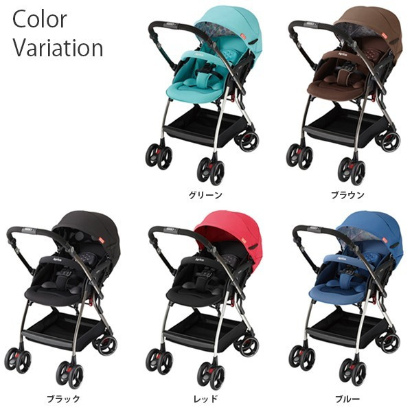 *babygo*愛普力卡Aprica Optia新視野 四輪自動定位導向型嬰幼兒手推車