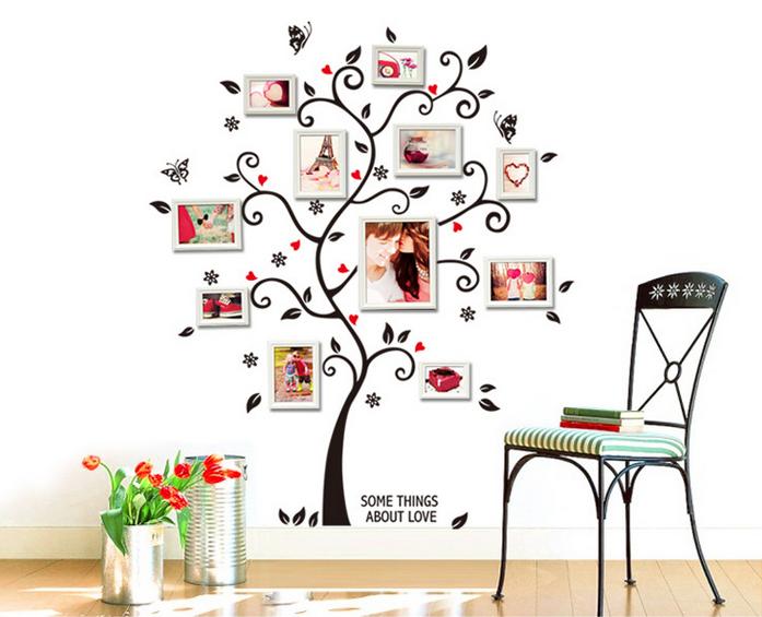 【壁貼王國】 園藝系列無痕壁貼 《幸福樹 - AY6031》