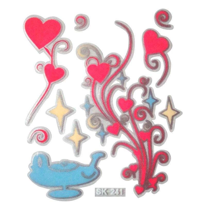【壁貼王國】 夜光型開關系列無痕貼紙 《愛的神燈 - SK241》