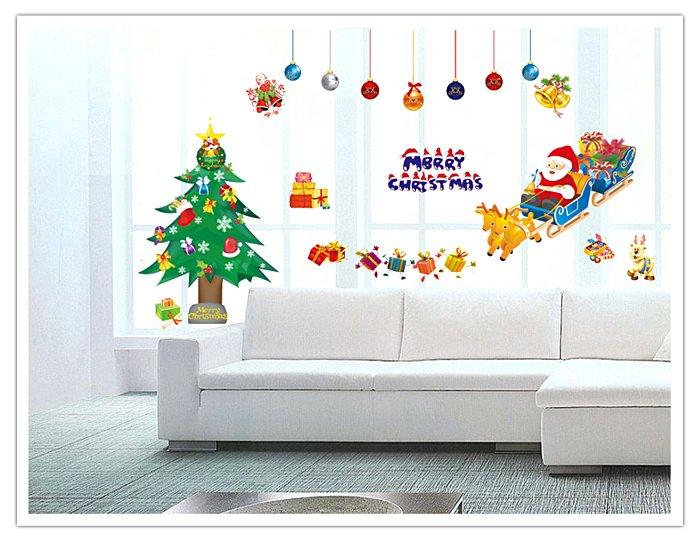 【壁貼王國】 耶誕系列無痕壁貼 《聖誕老人 - XC1700》