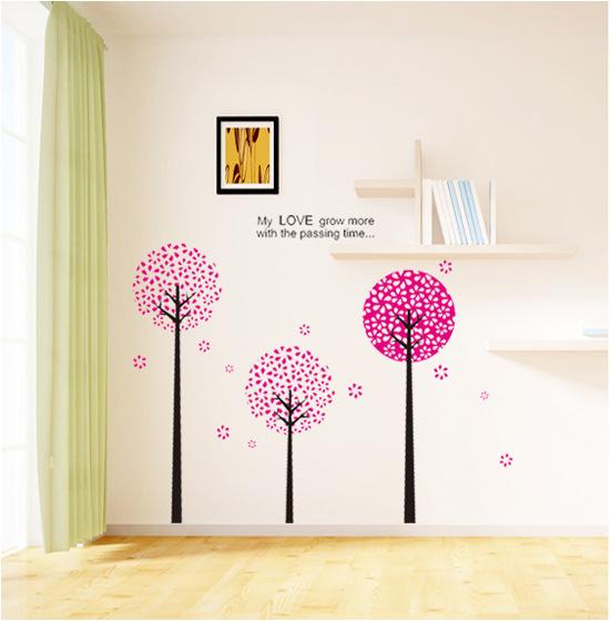 【壁貼王國】 園藝系列無痕壁貼《潘朵拉樹 - AY812》