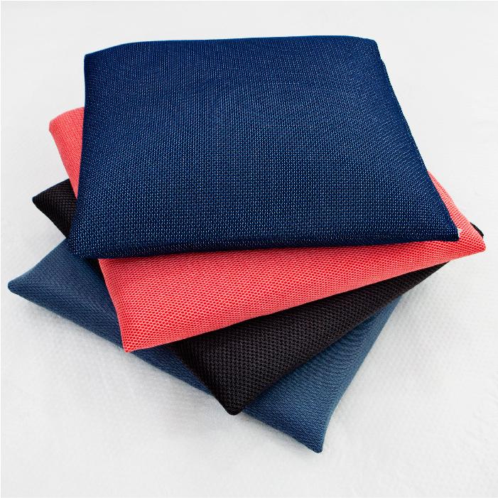 【名流寢飾家居館】100%純天然乳膠坐墊.單人坐墊.45x45cm.馬來西亞進口.3D透氣坐墊布套