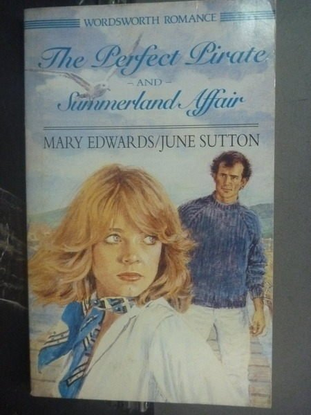 【書寶二手書T5/原文小說_JNH】the Perfect Pirate_Mary Edwards
