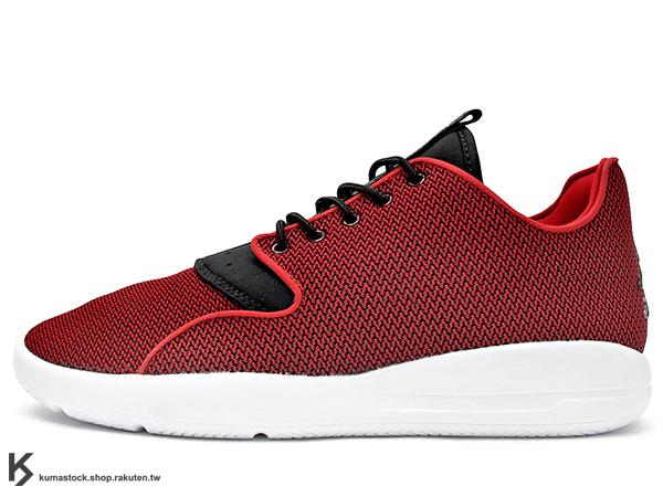 [38%OFF] 2015 台灣未發售 JORDAN BRAND 最新力作 休閒鞋款 NIKE JORDAN ECLIPSE UNIVERSITY RED 男鞋 紅黑白 紅白 ZOOM AIR 氣墊 輕量化 休閒運動鞋 (724010-601) !