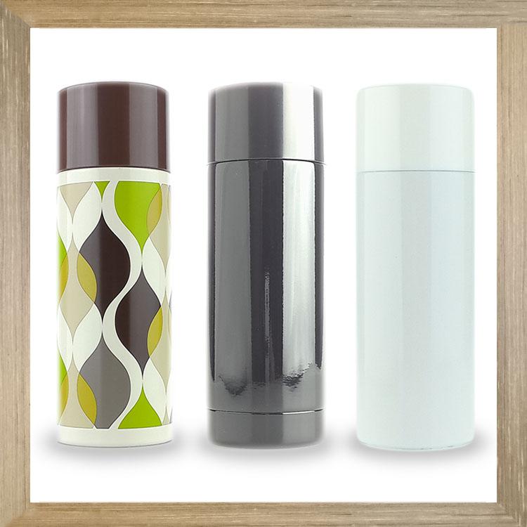 大田倉 日本進口正版 另類不鏽鋼 保冷 保溫瓶 保溫杯 格紋 白色 黑色 240ML