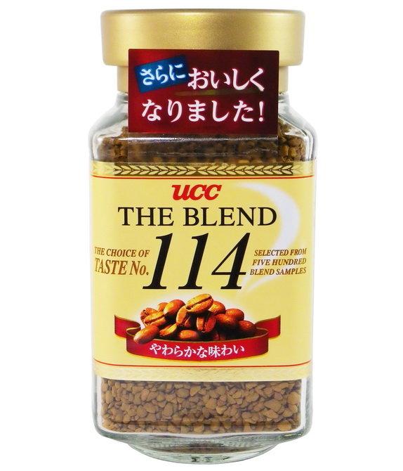 日本UCC 114精緻即溶咖啡(90g)/4901201103797