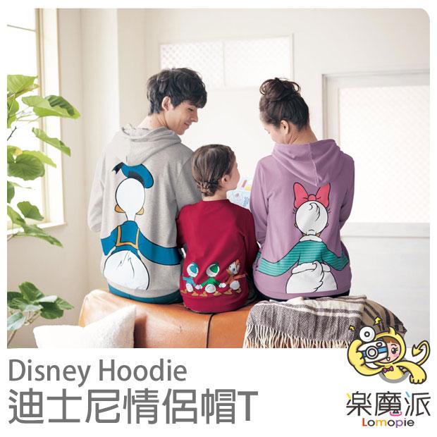 日本代購 迪士尼 DISNEY 帽T 情侶衣 情侶裝 米奇米妮三眼怪郎唐老鴨高飛史迪奇維尼