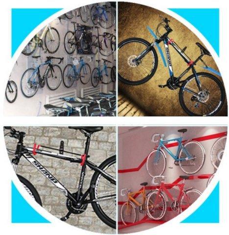 《意生》V型款自行車壁掛勾 自行車掛鉤 自行車壁掛架自行車壁掛鉤單車壁掛架單車壁掛鉤自行車展示架單車展示架